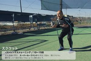 【トレーニング】秋田豊:ストレングストレーニング (1:00)