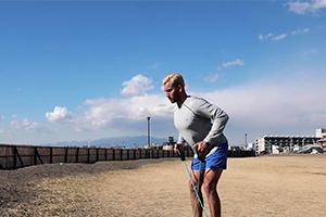 【トレーニング】Beach BootCamp 2018 ローイング(0:17)